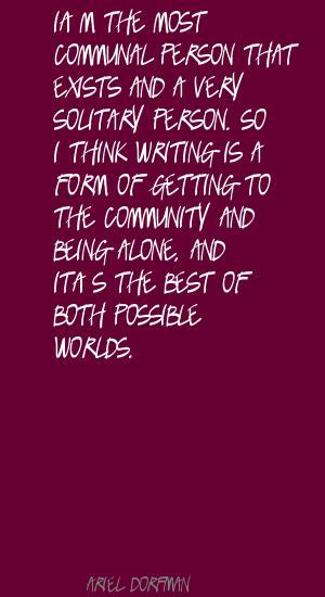 Ariel Dorfman's quote #2