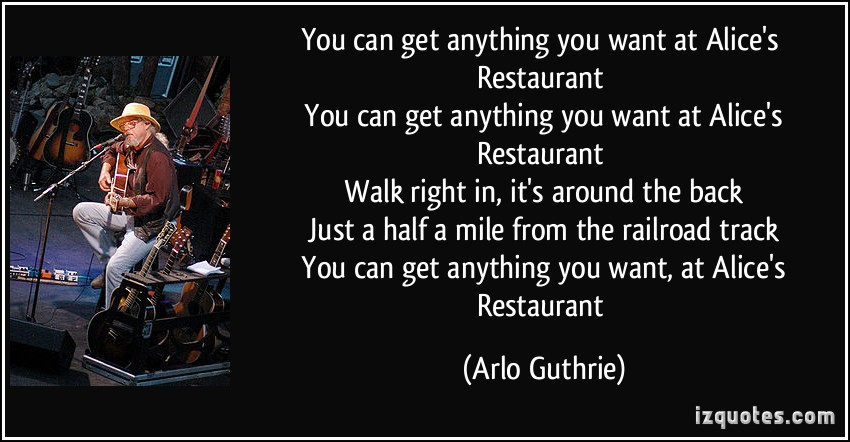 Arlo Guthrie's quote #5