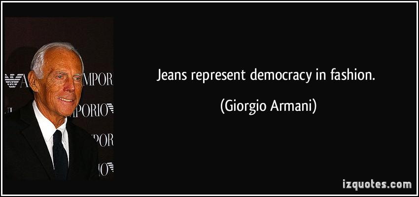Armani quote #1