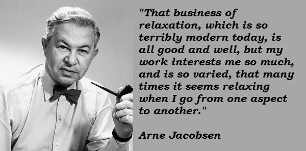 Arne Jacobsen's quote #7