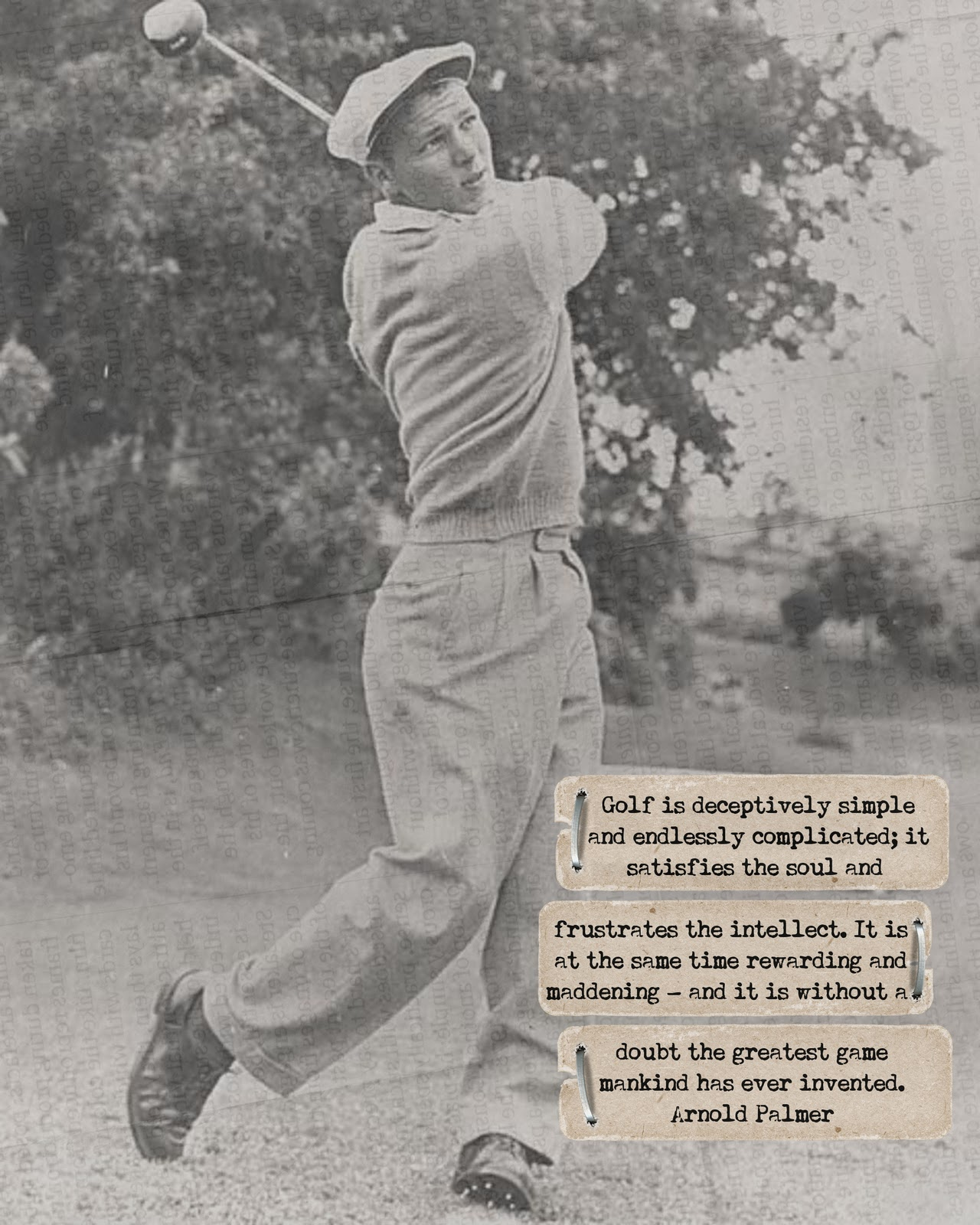 Arnold Palmer quote #1