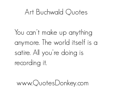 Art Buchwald's quote #3
