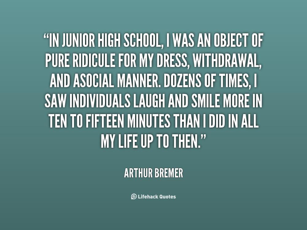 Arthur Bremer's quote