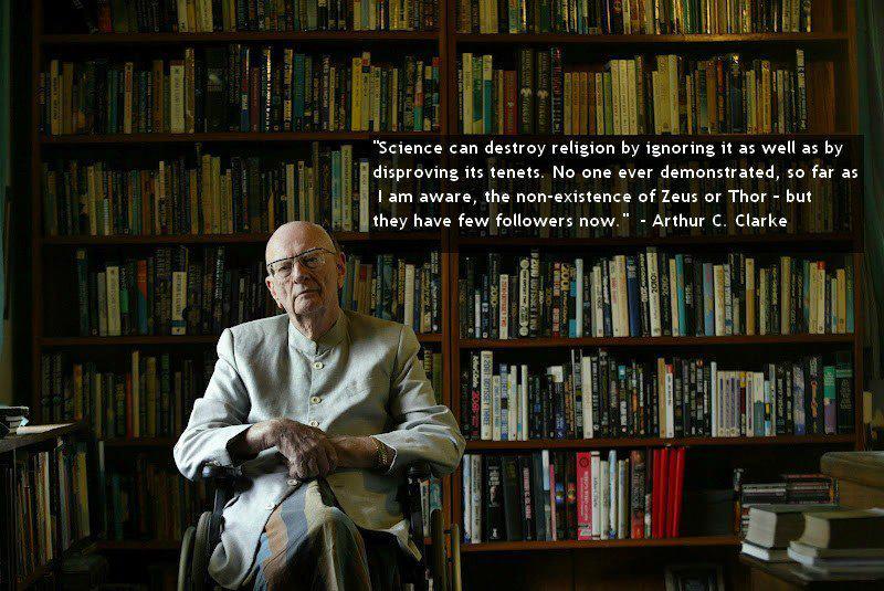 Arthur C. Clarke's quote #2