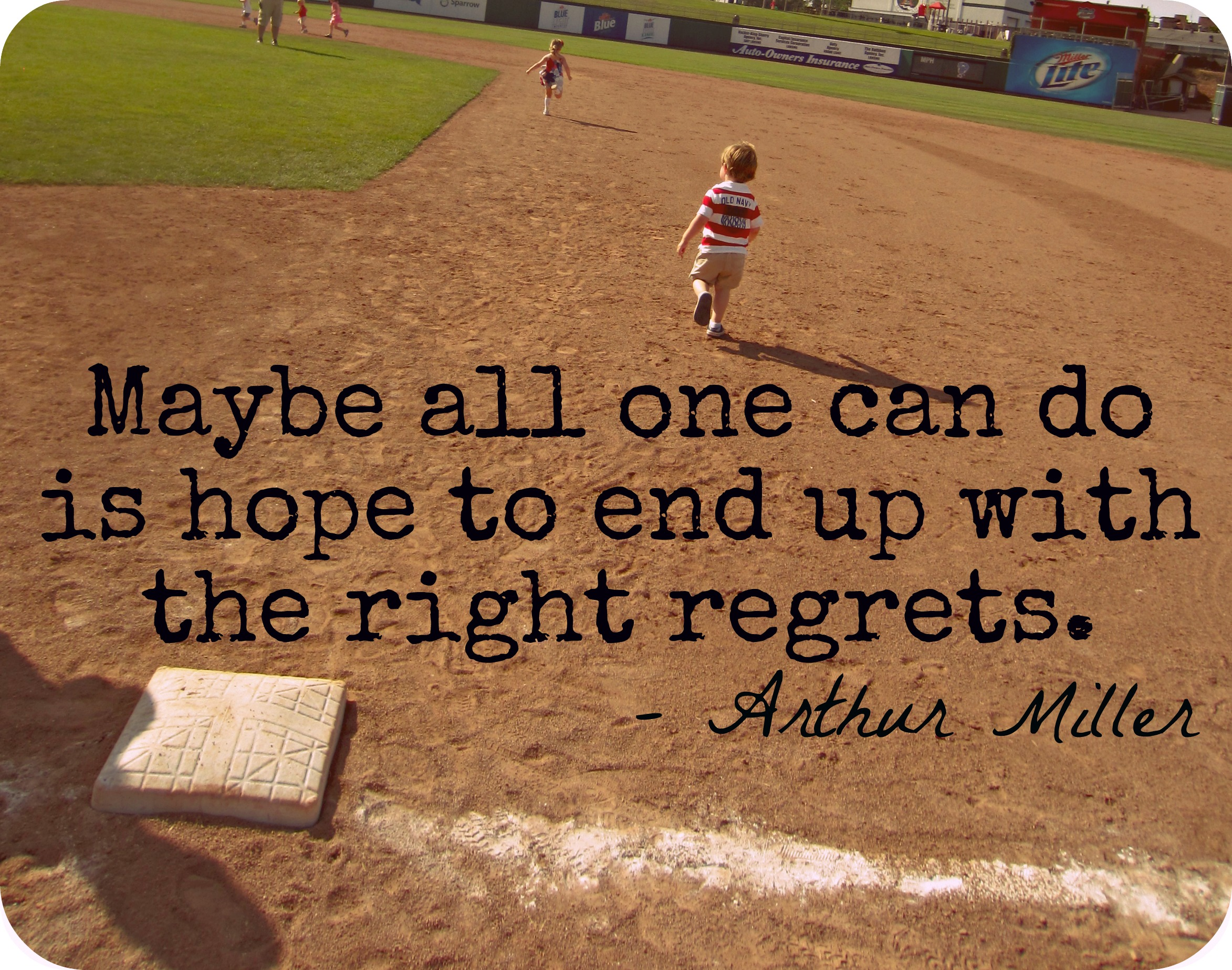 Arthur Miller's quote