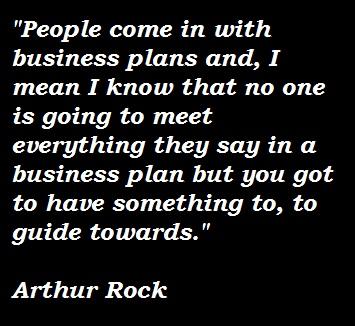 Arthur Rock's quote #3