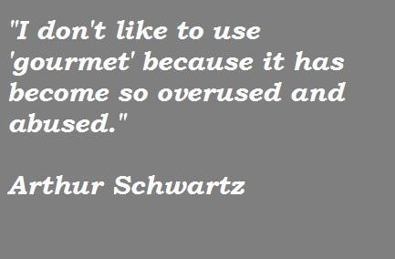 Arthur Schwartz's quote #2