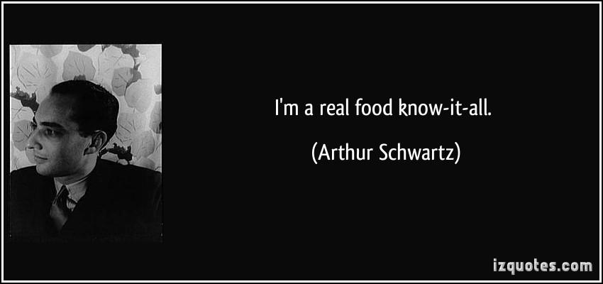 Arthur Schwartz's quote #4