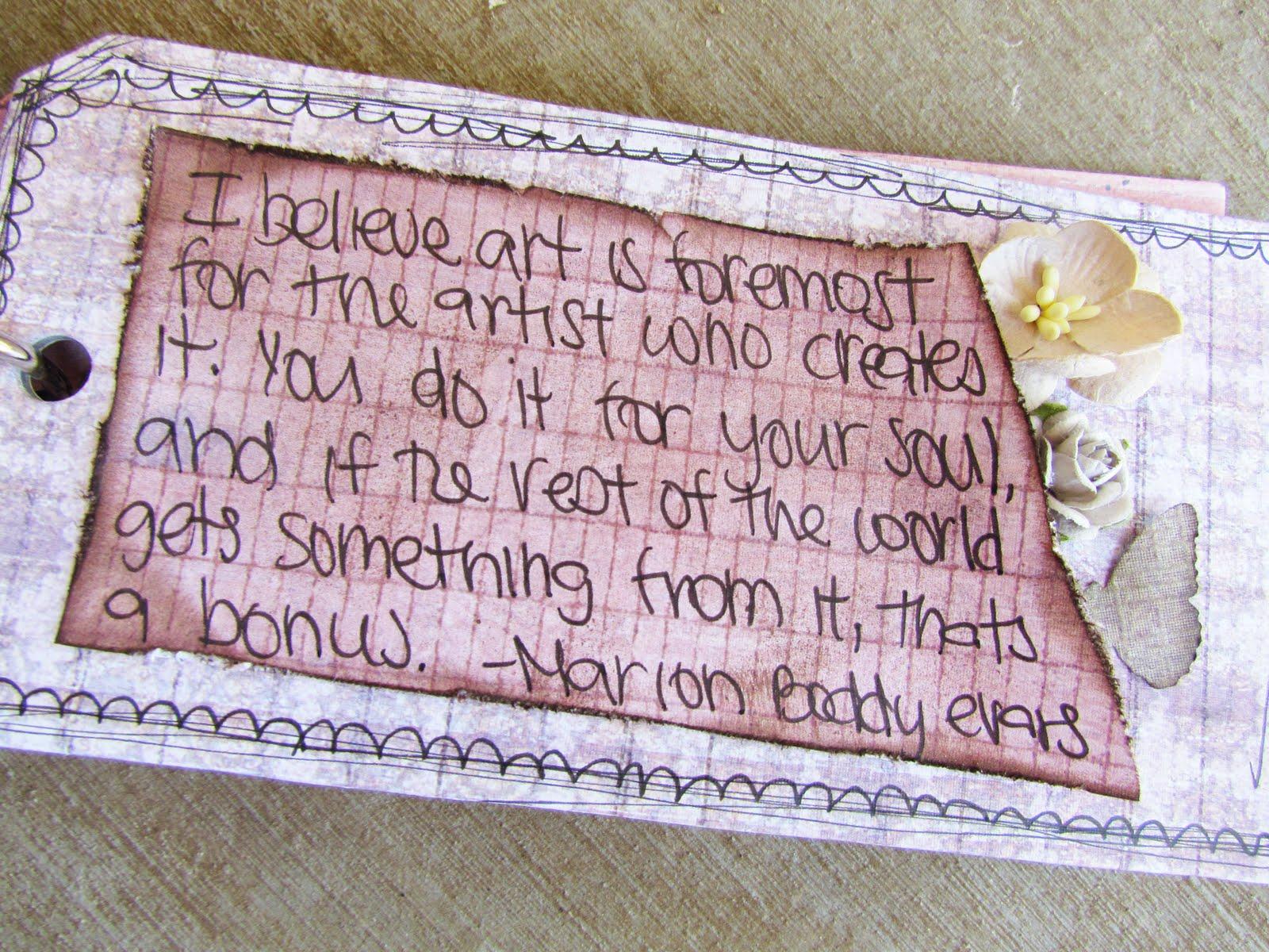 Artistic quote #1