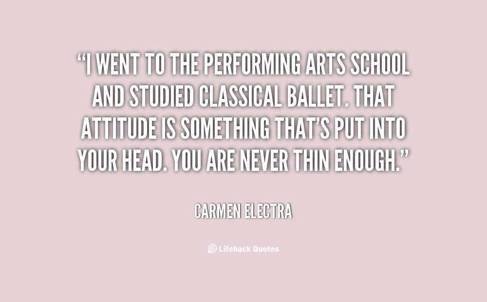 Arts School quote #2