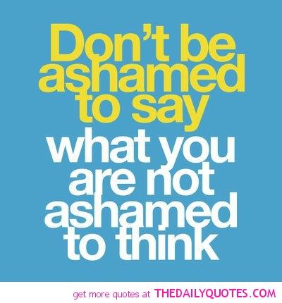 Ashamed quote #4
