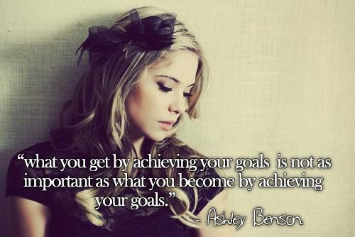 Ashley Benson's quote #2