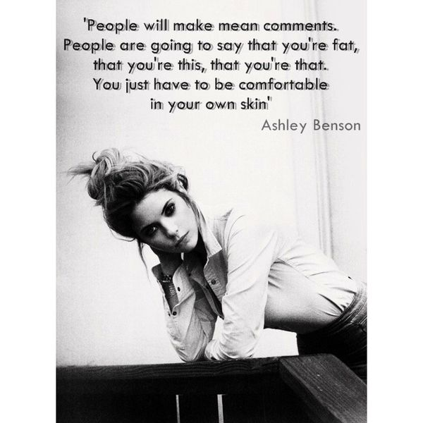 Ashley Benson's quote #7