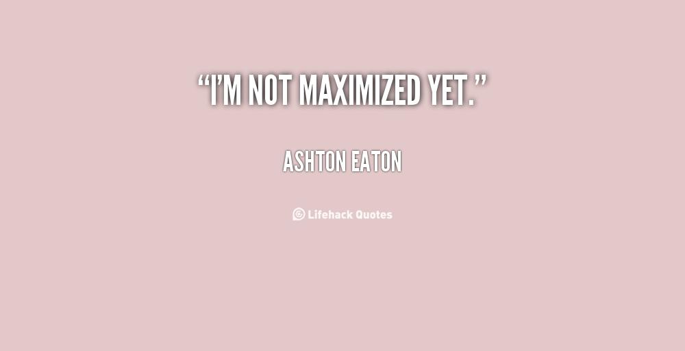 Ashton Eaton's quote #2