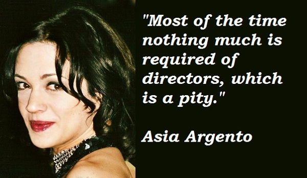 Asia Argento's quote #4