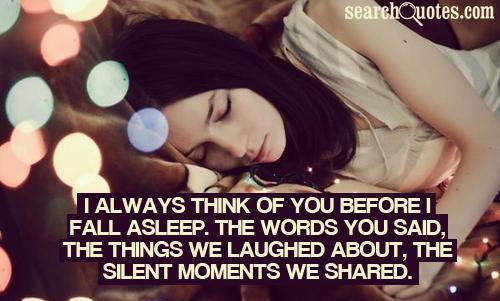 Asleep quote #2