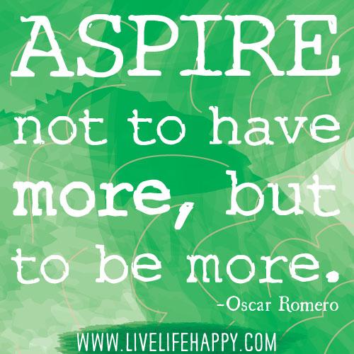Aspire quote #5
