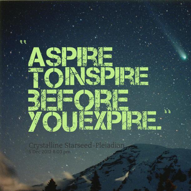 Aspire quote #1