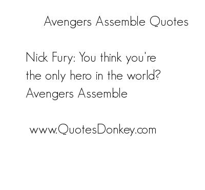 Assemble quote #1