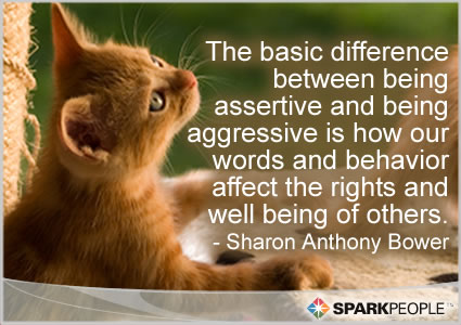Assertive quote #2