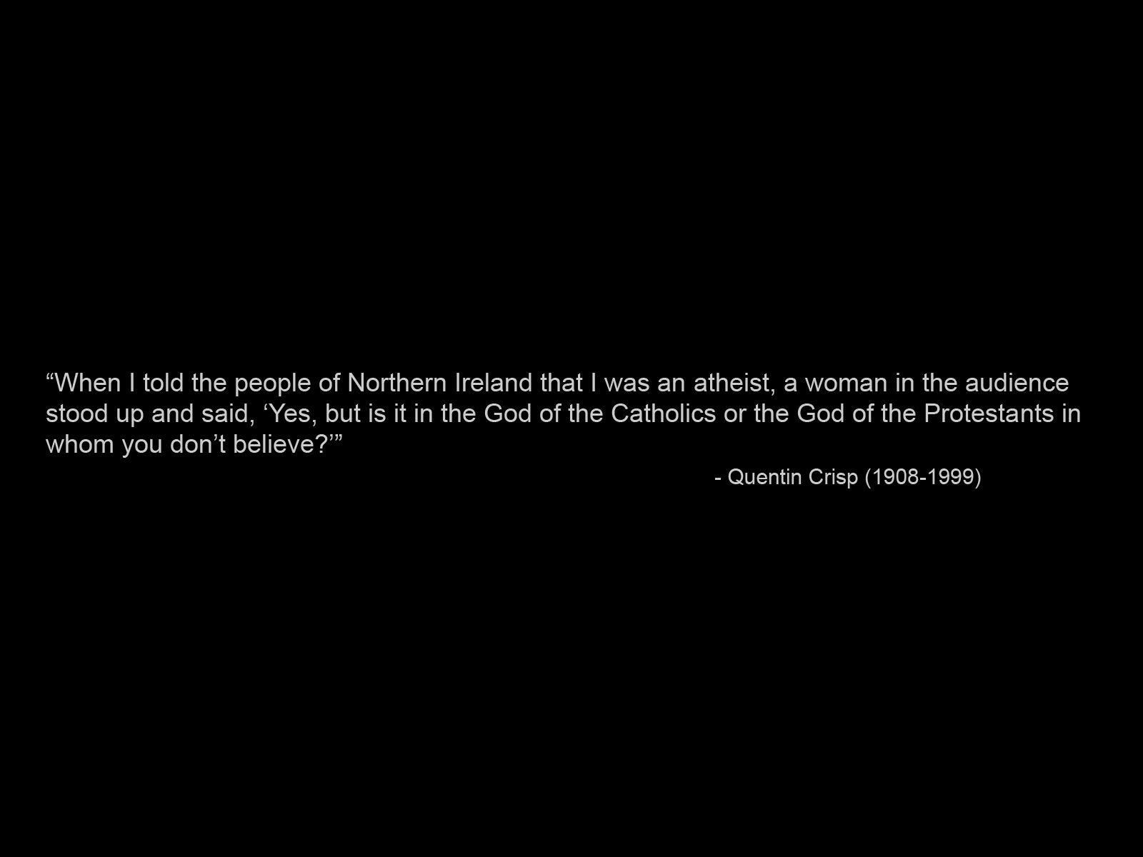 Atheist quote #6