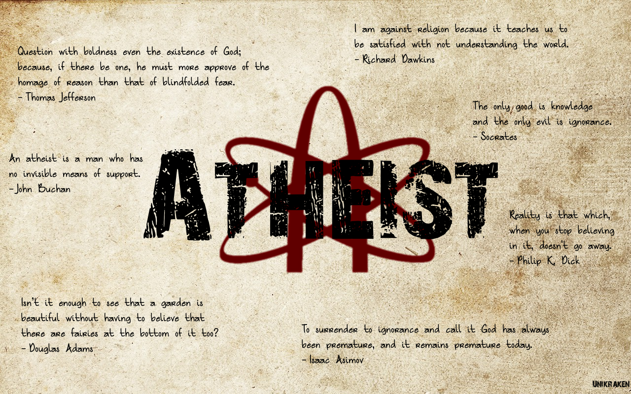 Atheists quote #2