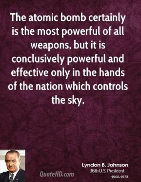 Atomic Bomb quote #2