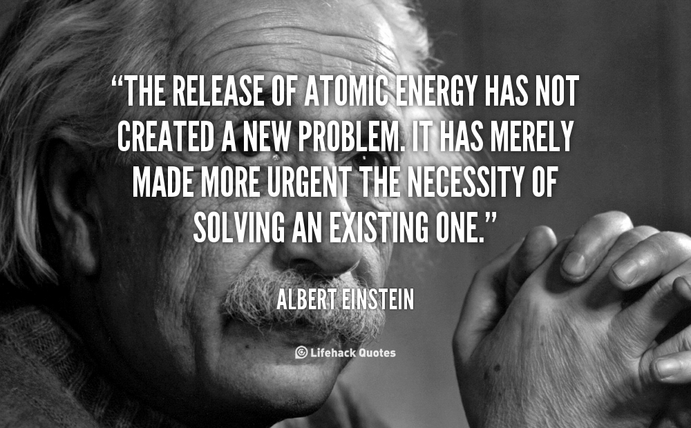 Famous Quotes About 'Atomic Energy'