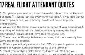 Attendant quote #2