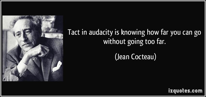 Audacity quote #2