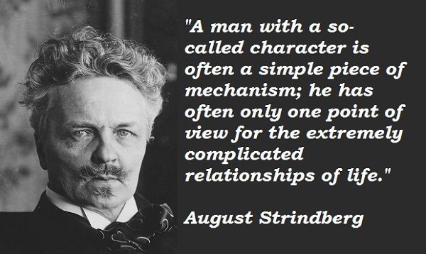 August Strindberg's quote #1