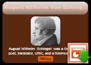 August Wilhelm von Schlegel's quote #1