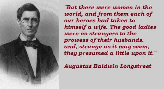 Augustus Baldwin Longstreet's quote #3