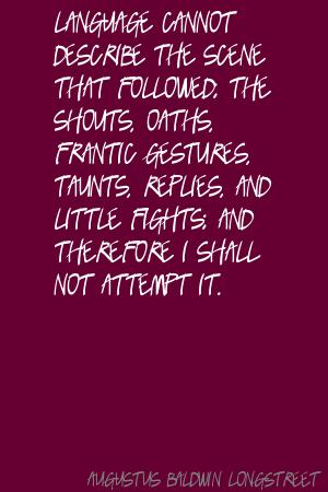Augustus Baldwin Longstreet's quote