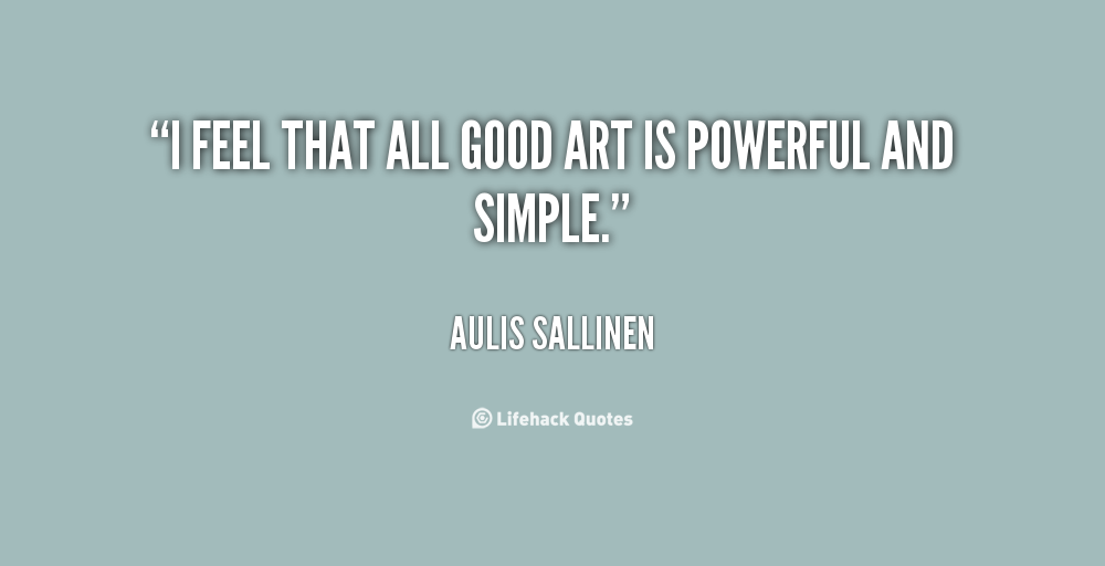 Aulis Sallinen's quote #8