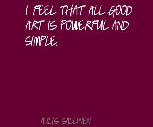 Aulis Sallinen's quote #1