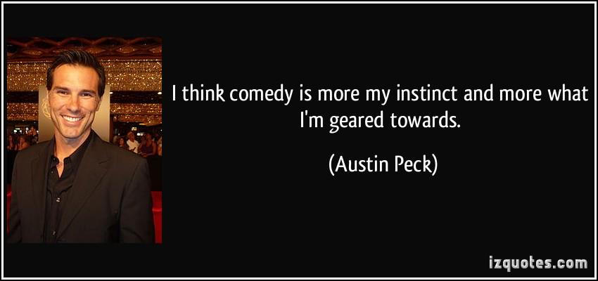 Austin Peck's quote