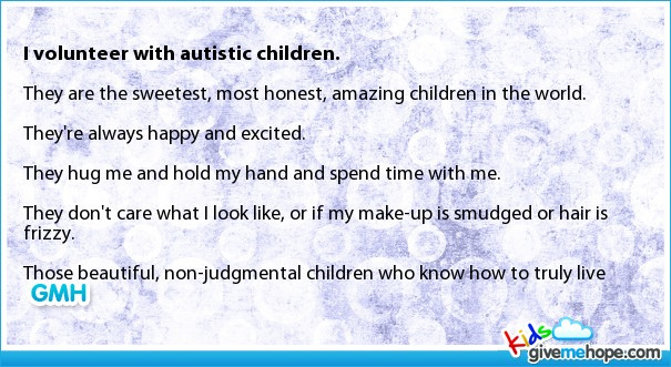 Autistic Children quote #2