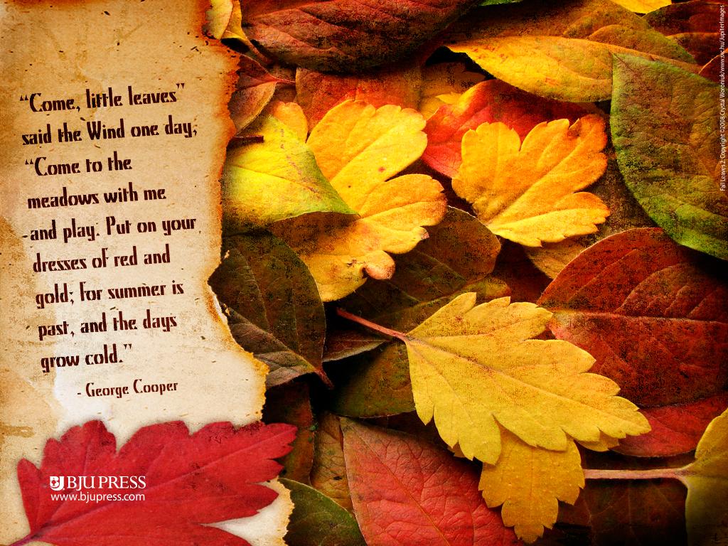 Autumn quote #4