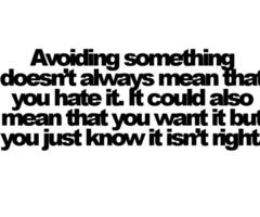 Avoiding quote #2