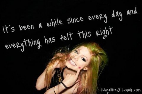 Avril Lavigne's quote #7
