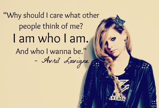 Avril Lavigne's quote #4