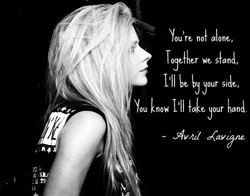 Avril Lavigne's quote #2