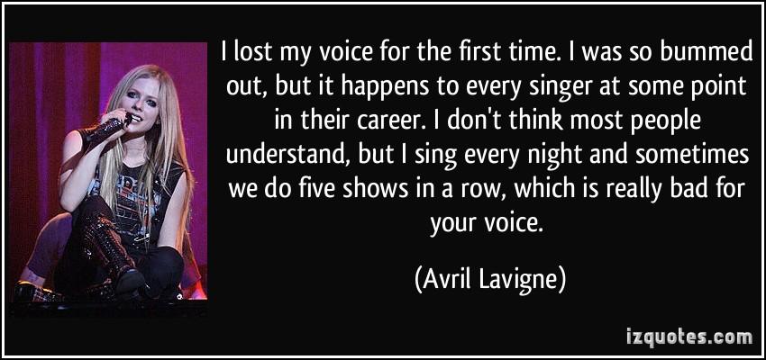 Avril Lavigne's quote #6