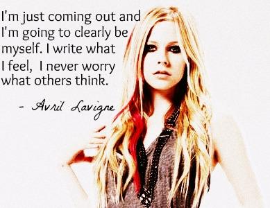 Avril Lavigne's quote #5