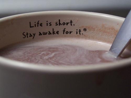 Awake quote #1