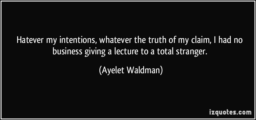 Ayelet Waldman's quote #3
