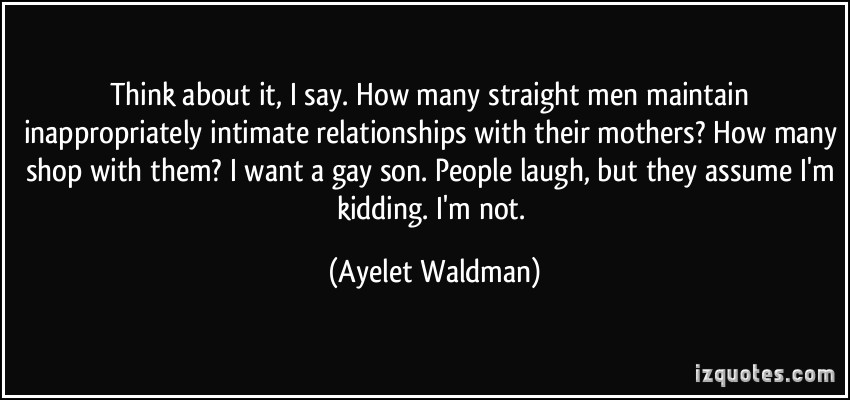 Ayelet Waldman's quote