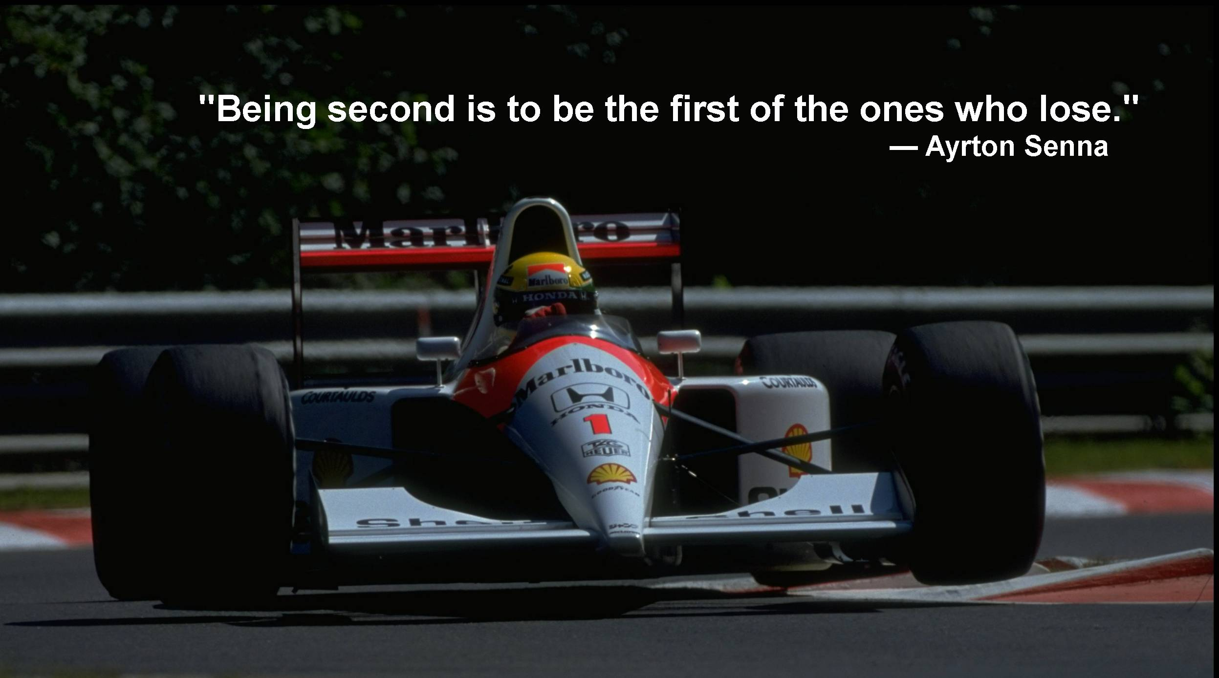 Ayrton Senna's quote #2
