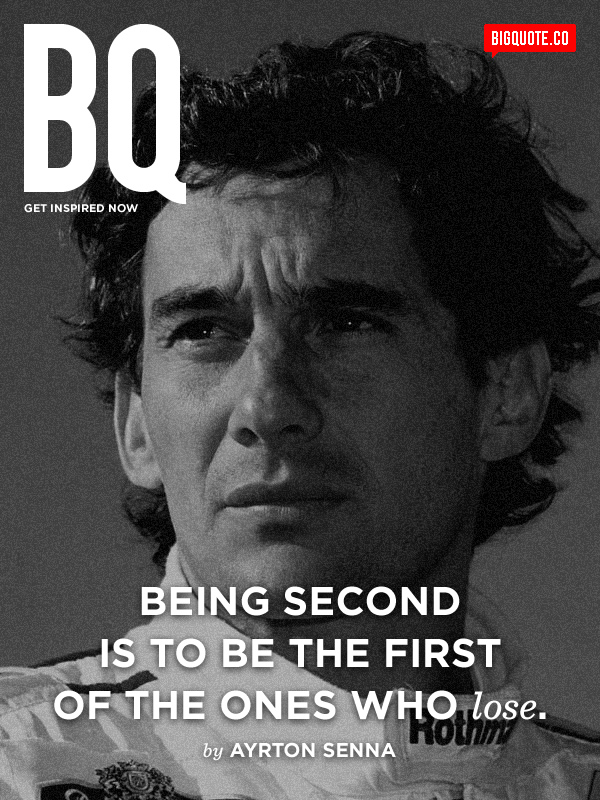 Ayrton Senna's quote #4